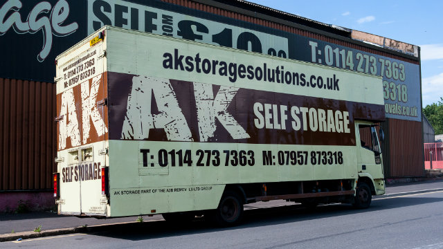 AK Removals Sheffield for Self Storage